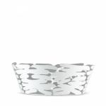 Alessi BARKET Misa - Kosz na Owoce 18 cm Biały