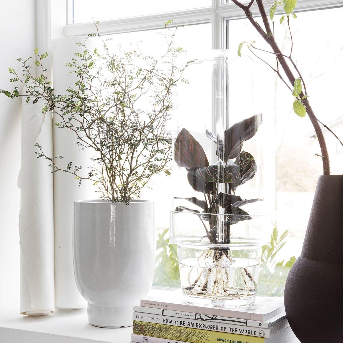 House Doctor Planter Doniczka Do Kwiatów 20 Cm Biała