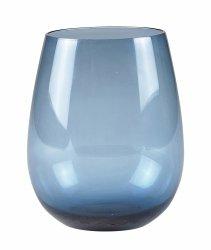 Villa Collection COLOUR Szklanki do Wody 520 ml 4 Szt. Niebieskie