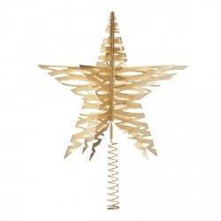 Stelton CHRISTMAS Czubek na Choinkę Tangle - Odcień Złoty