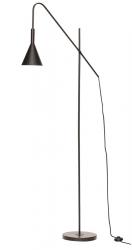Hübsch NORDIC Lampa Podłogowa - Czarna