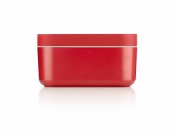 Lekue ICE BOX Forma do Kostek Lodu i Pojemnik na Lód 2w1 Czerwony