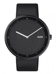 Alessi OUT_TIME Zegarek - Czarny Pasek