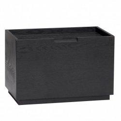 Hübsch BOX Modułowy Pojemnik do Przechowywania - Czarny
