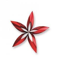 Philippi STELLA Zawieszka Świąteczna 14 cm Gwiazda Czerwona