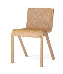 Menu READY Krzesło Drewniane Fornirowane - Dąb Naturalny