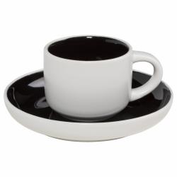 Maxwell Williams TINT Filiżanka do Kawy Espresso 100 ml Czarna