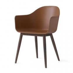 Menu HARBOUR Krzesło - Rama Drewniana Ciemna/Siedzisko Khaki