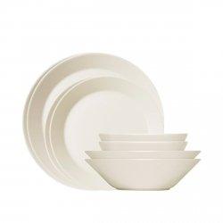Iittala TEEMA Zestaw Startowy Porcelany 8 El. Biały