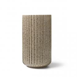Lyngby Porcelain RADIANCE Wazon do Kwiatów 20.5 cm Szary