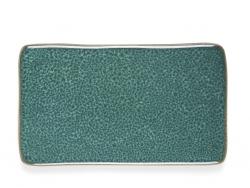 Bitz SIDE Talerz Prostokątny 22 cm 4 Szt. Zielony