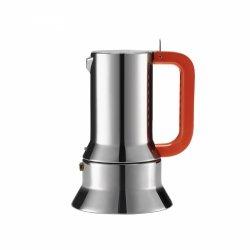 Alessi 9090 Kawiarka - Zaparzacz do Espresso 300 ml Manico Forato - Edycja Limitowana 100-Lecie Alessi