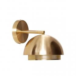 Hübsch ROUND Kinkiet Ścienny - Złoty