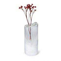 Philippi SNOW Szklany Wazon do Kwiatów 31 cm