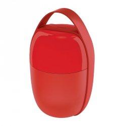 Alessi FOOD A PORTER Lunchbox - Pojemnik na Lunch - Czerwony
