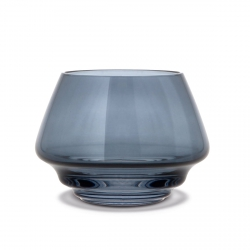 Holmegaard FLOW Świecznik Tealight - Granatowy