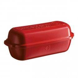 Emile Henry NATURE Ceramiczna Forma do Pieczenia Chleba 4,5 l Czerwona