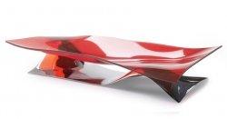 Casa Bugatti SOFFIO Patera Dekoracyjna - Misa na Owoce - Czerwona