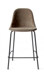 Menu HARBOUR SIDE Krzesło Barowe 102 cm Hoker Jasnoszary - Siedzisko Tapicerowane Odcień Beżowy