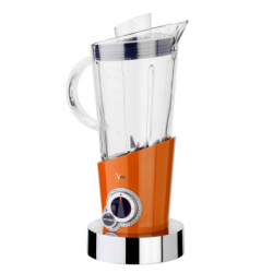 Casa Bugatti VELA INDIVIDUAL Blender Elektryczny - Swarovski - Pomarańczowy