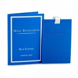 Max Benjamin CLASSIC Zawieszka - Karta Zapachowa - Blue Flowers