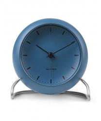 Rosendahl ARNE JACOBSEN Zegarek Stołowy - Budzik Niebieski STONE BLUE