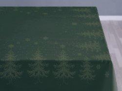 Sodahl CHRISTMAS WINTERLAND Obrus Świąteczny na Stół 150x180 cm Zielony