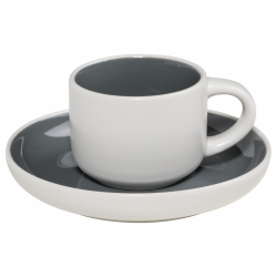 Maxwell Williams TINT Filiżanka do Kawy Espresso 100 ml Grafitowa