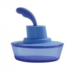 A di Alessi SHIP SHAPE Maselniczka z Nożem do Smarowania - Niebieska