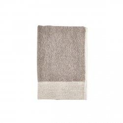 ZONE Denmark INU SPA Ręcznik Bawełniano-Lniany 40x60 cm Naturalny