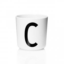 Design Letters AJ Kids - Kubek z Melaminy - Litera C