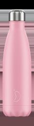 Chilly's PASTEL Stalowa Butelka Termiczna 500 ml Różowa