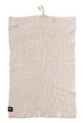 ZONE Denmark KITCHEN Ścierka - Ręcznik Kuchenny 50x38 cm Jasnoszary Warm Grey