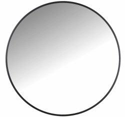 Villa Collection MIRROR Lustro Ścienne Okrągłe 100 cm Czarne