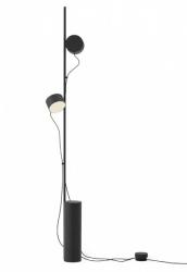 Muuto POST Lampa Stojąca - Podłogowa - Czarna