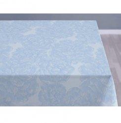 Sodahl MODERN ROSE Obrus na Stół 140x270 cm Jasnoniebieski - Linen Blue