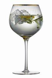 Lyngby Glass PALERMO Kieliszki Koktajlowe 650 ml 4 Szt. Złote
