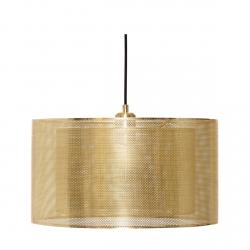 Hübsch GRID Lampa Wisząca - Złota (Odcień Mosiądz)