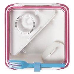 black+blum BOX APPETIT Pojemnik Lunch Box - Biało/Różowy
