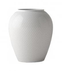Lyngby Porcelain RHOMBE Wazon do Kwiatów 17 cm