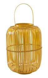 A Simple Mess DAHN Lampion Bambusowy - Żółty