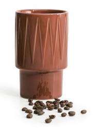 Sagaform COFFEE RETRO Kubek 400 ml Czerwony
