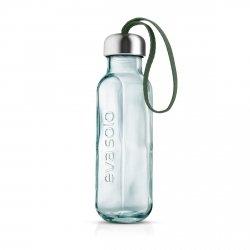 Eva Solo RECYCLED Butelka do Wody 0,5 l ze Szkła z Recyklingu - Zielona