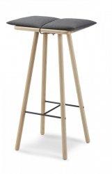 Skagerak GEORG Hoker - Stołek Barowy 78 cm - Dębowy