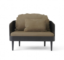 Menu SEPTEMBRE Fotel - Skóra Royal Nubuck Ecru 30253