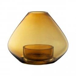 Aytm UNO Doniczka - Świecznik Lampion 21 cm Amber