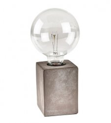Villa Collection NORDIC Lampa Stołowa z Cementu w Industrialnym Stylu