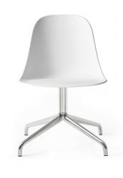 Menu HARBOUR SIDE Krzesło Obrotowe - Rama Aluminium - Siedzisko Białe