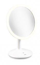 ADE Powiększające Lustro Kosmetyczne z Podświetleniem - Białe