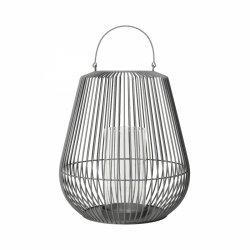 Blomus NIDEA Lampion Podłogowy rozm. S - Steel Gray